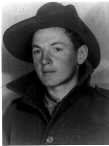 Billy Young decided to enlist at age 15.